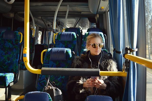 jízda autobusem