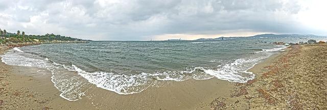 pláž v saint tropez