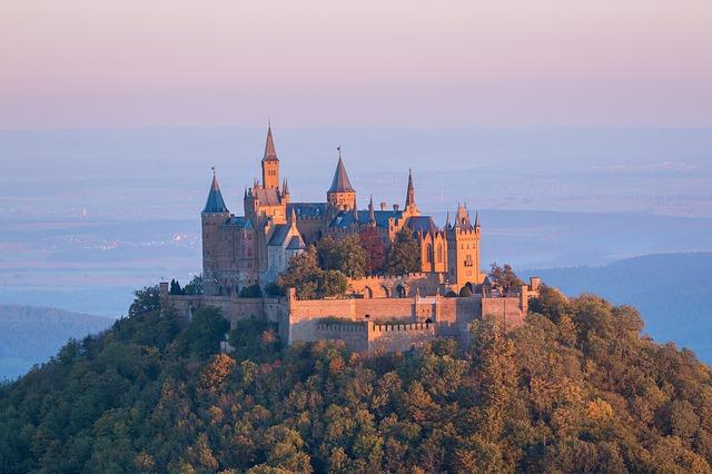 zámek v Německu